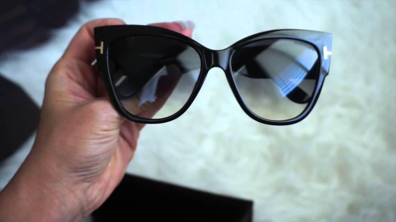 tom ford anoushka sunglasses unboxing youtube. Black Bedroom Furniture Sets. Home Design Ideas