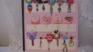 Planner Paper Clips (or for Journal, Scrapbook Mini Albums, Bookmark, Embellishments)