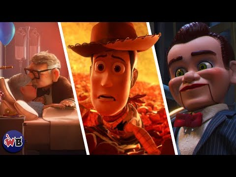 Top 15 DARKEST Pixar Moments That Were Really Messed Up