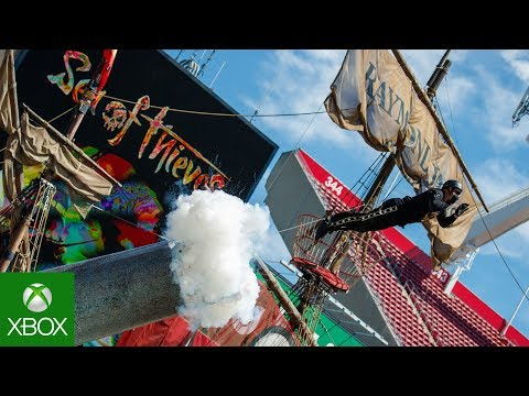 Sea of Thieves Human Cannonball Launch | GUINNESS WORLD RECORD