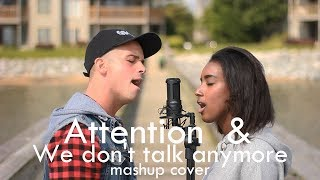 Attention/ We don't talk anymore - by :Charlie Puth - mashup cover - by: Thara & Veniamin