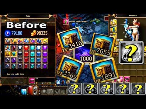 OPENING 15K CUBES! Drakensang Online - Ranger Progress Update #16