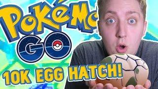Pokemon GO Gameplay - 10KM EGG HATCH + EVOLVING LOTS!!