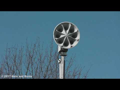 ASC T-128 Siren Test - White River Township, IN 2/17/17