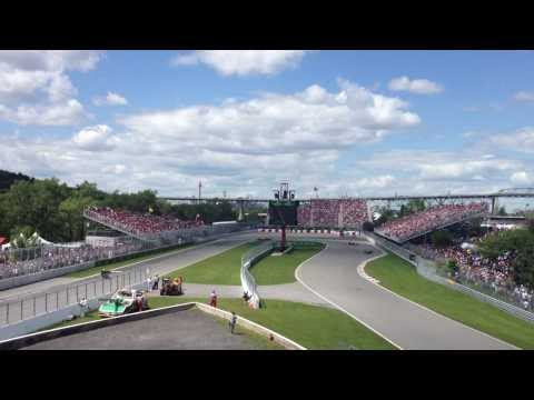 Canadian Grand Prix View from Grandstand 34 - Turn 10