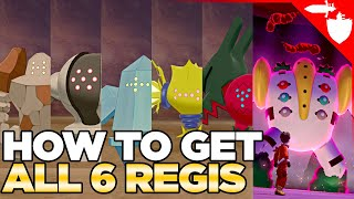 How to Get all 6 Regis in the Crown Tundra Regidrago, Regieleki, Regigigas -Pokemon Sword Shield DLC