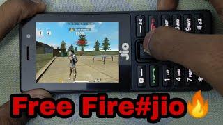 Free  Fire 🔥🔥gameplay on JIO PHONE #howtoplayfreefireonjio