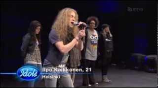 Ilpo Kaikkonen - teatterin rivilaulu (Idols 2011)
