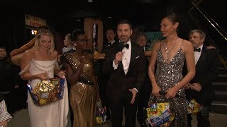 Jimmy Kimmel and Oscars Stars Surprise Moviegoers