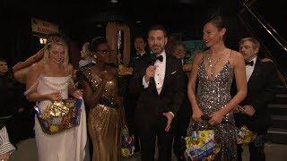 Video Jimmy Kimmel and Oscars Stars Surprise Moviegoers download MP3, 3GP, MP4, WEBM, AVI, FLV Maret 2018