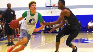 chino hills vs narbonne without liangelo ball   full highlights week 3 at theleague