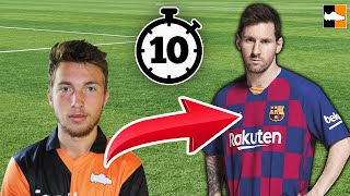 How To Become Messi In 10 Mins! Ultimate Lionel Messi Lookalike