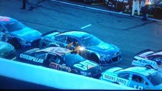 Ryan Newman vs. Aj Allmendinger 2016 Loudon fall NASCAR race