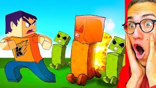 Download Reacting To WORLD'S MOST INTENSE MINECRAFT ANIMATION! Mp3 and Videos