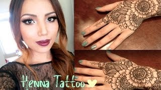 Henna Tattoo Tutorial (Tips and Tricks )