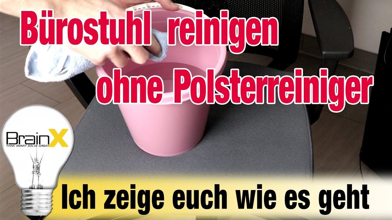 Favorit Bürostuhl reinigen Polster reinigen ohne Chemie - Klöber duera 88 NF42