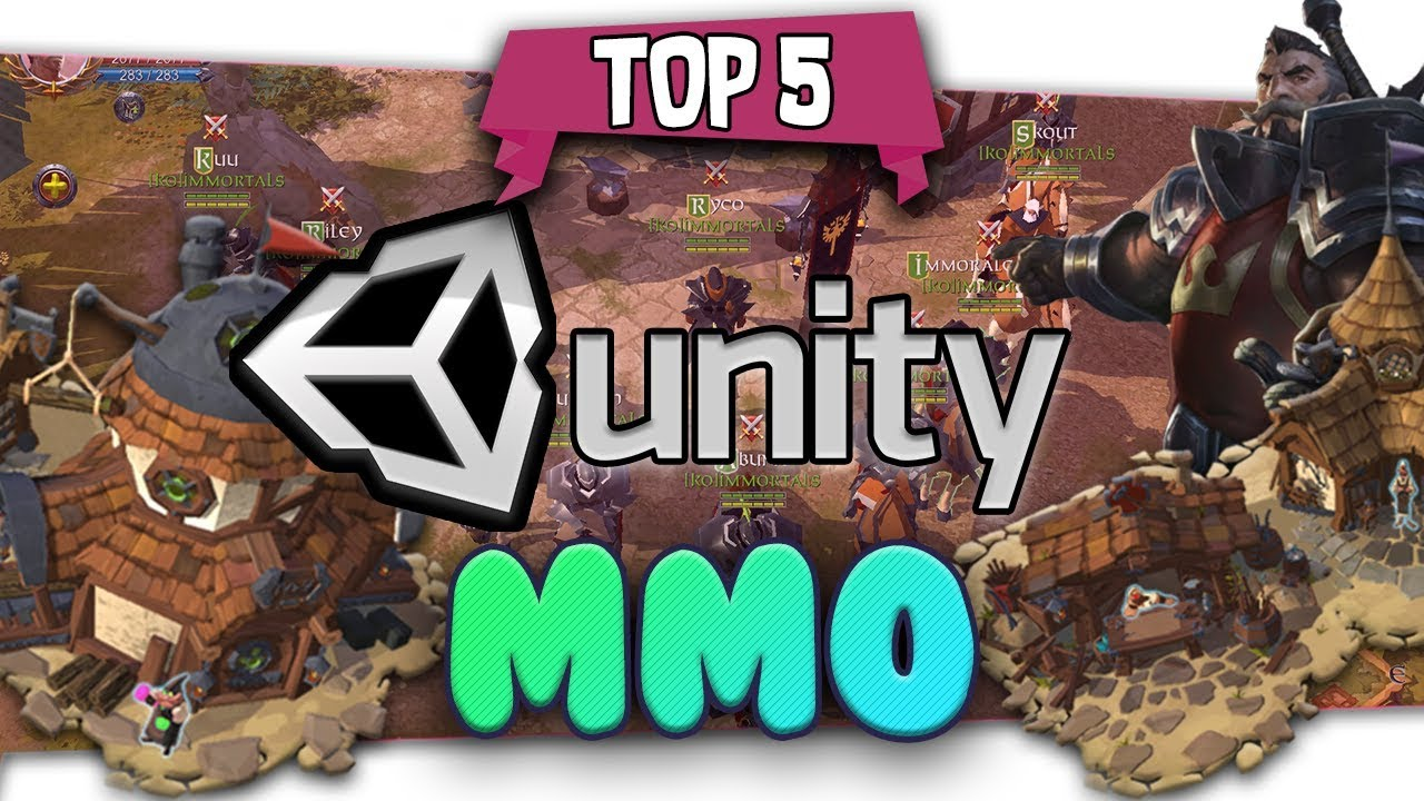 👨🔧How To Make An MMO In Unity