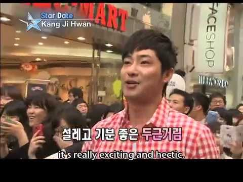 "[Star Date] Meet actor ""Kang Ji-hwan"" in Myeongdong on a warm spring day! (강지환)"