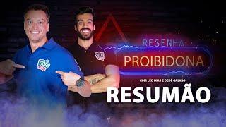 Resenha Proibidona (Resumão da Estreia) Léo Dias e Dedé Galvão #FMODIA