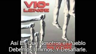 Vio-Lence - Oppressing the Masses ( SUBTITULADO AL ESPAÑOL)