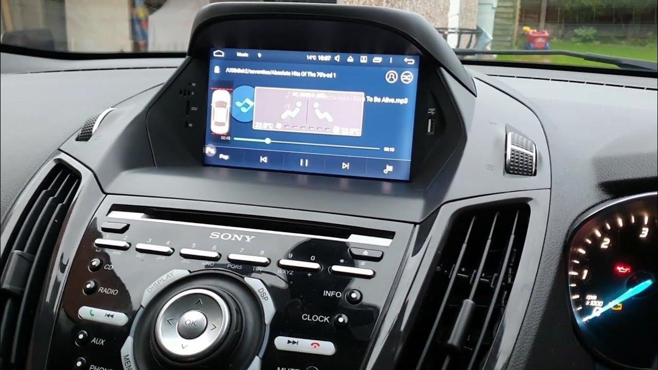 Belsee Ford Mk2 Kuga Escape Radio Removal Fitting Android Head Unit Gps Navigation Youtube