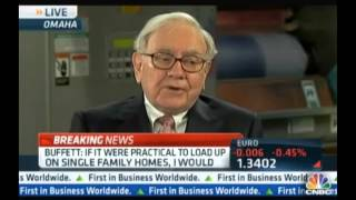 Warren Buffet Interview -- Why You Need To Buy Detroit Investment Real Estate