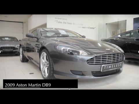 2009 Aston Martin Db9 Youtube