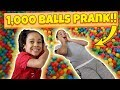 watch he video of Ball Pit Prank on Big Brother!! Filled His Room!