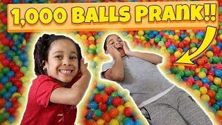 Ball Pit Prank on Big Brother!! Filled His Room!