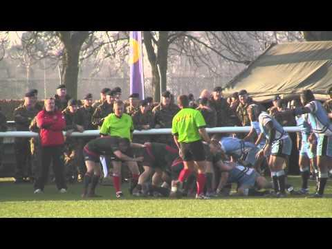 ARU - Premiership Final 2Bn Royal Welsh vs 17 Port & Maritime Highlights 14-3-12