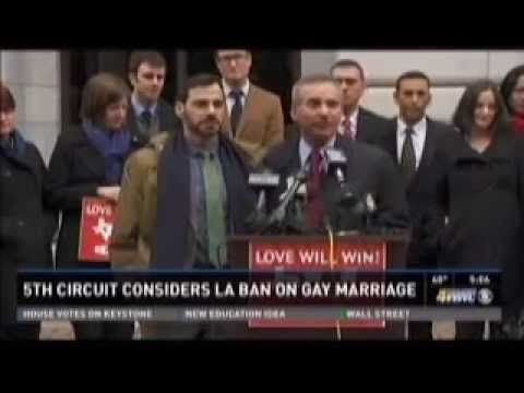 Supporters of Gay Marriage in Louisiana Heartened After Day in Court - WWLTV