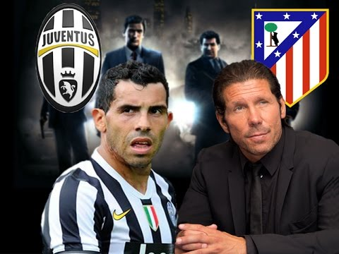 TEVEZ CHIAMA SIMEONE - Juve vs Atletico Madrid