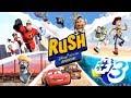 Rush A Disney Pixar Adventure - Gameplay Walkthrough Part 3 - Ratatouille - Cartoon Movie Games HD