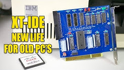 Building an XT-IDE card kit - flash storage for classic PC's!