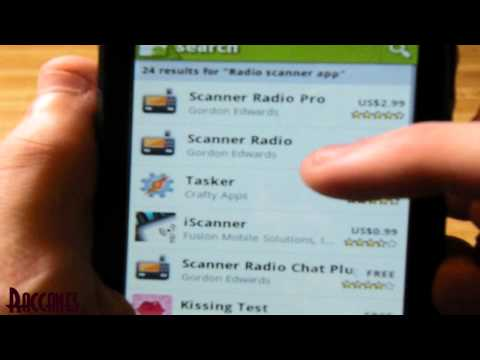 Android phones: How to install Police Radio Scanner App