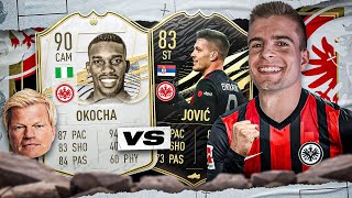 FIFA 21: ICON OKOCHA vs JOVIC Past vs Present Showdown 🕒😍