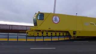 Golden Gate Bridge Zipper Truck Practice (Fast)