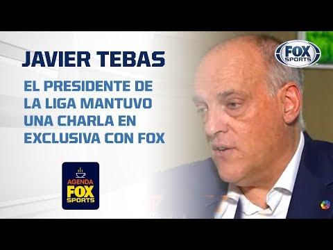 Así percibe Javier Tebas el nivel de la Liga MX