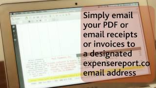 ABUKAI Expenses - Emailing receipts or invoices