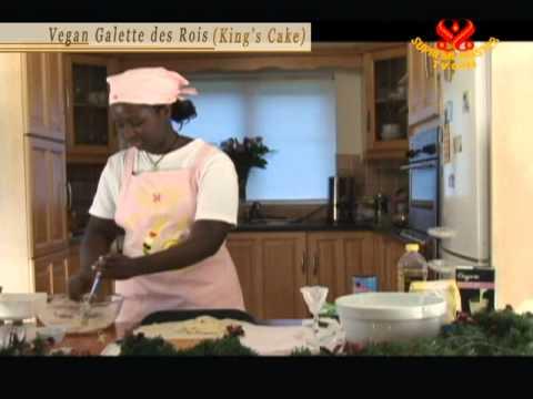 Vegan Galette des Rois (King's Cake) (In French)