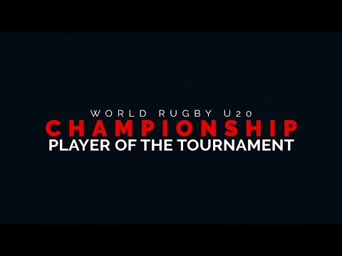 Nominees for the 2017 World Rugby U20 Championship Player of The Tournament