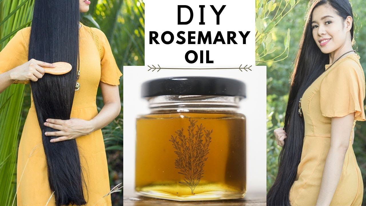 Download How To Make Rosemary Oil For Faster Hair Growth, Thicker Hair & Prevent Hair Loss -Beautyklove