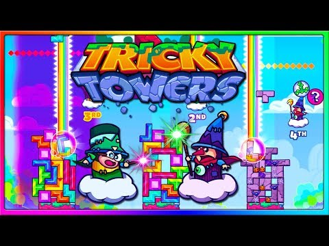 TRIPLE CARPENTER POWER UP IS OP! | Tricky Towers Gameplay