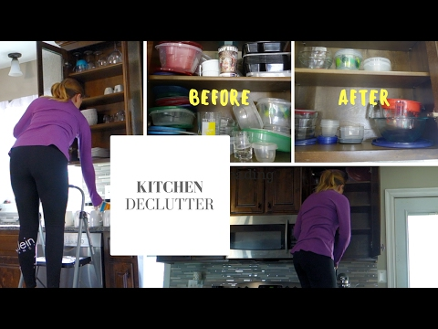 KITCHEN DECLUTTER   Speed Cleaning   Before & After
