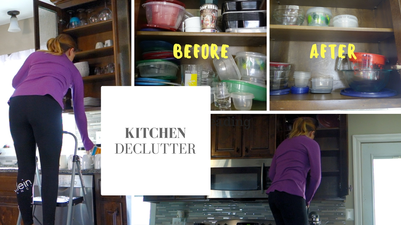 Kitchen declutter speed cleaning before after youtube - Declutter before and after ...