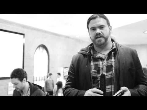 Paypal Chip and Pin device - John Lunn - Web Summit London 2013