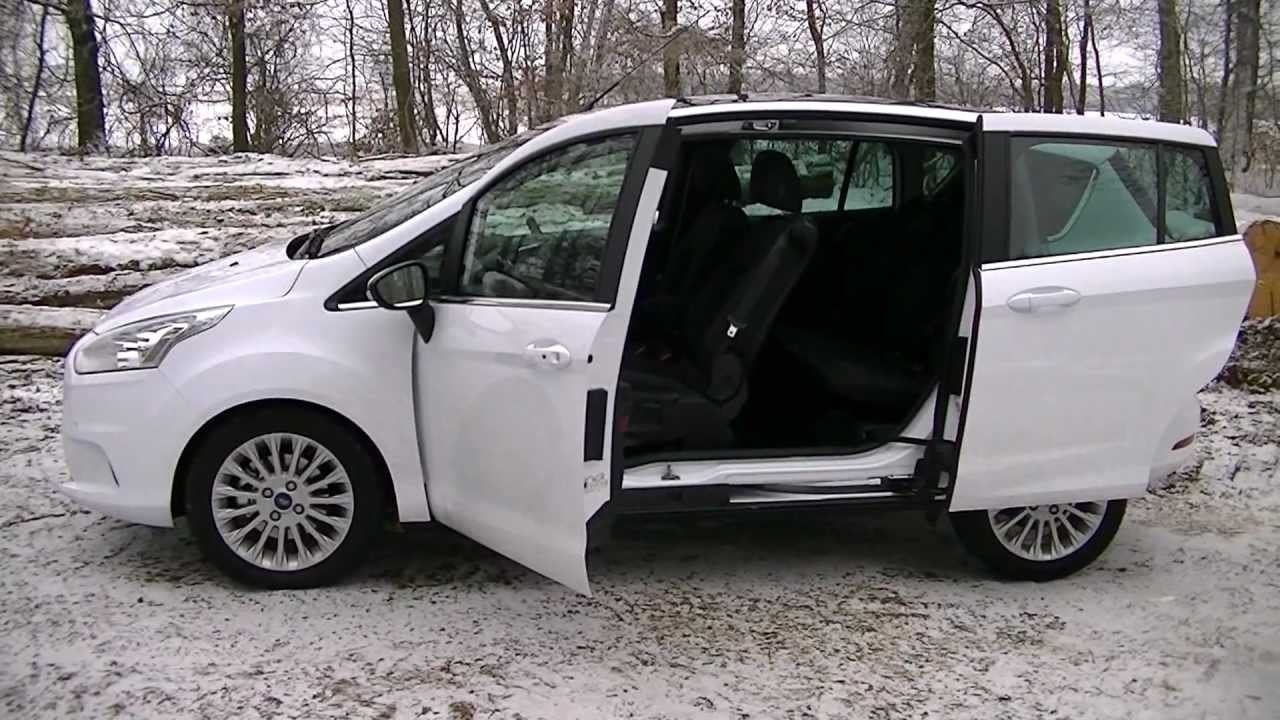 ford b max youtube. Black Bedroom Furniture Sets. Home Design Ideas
