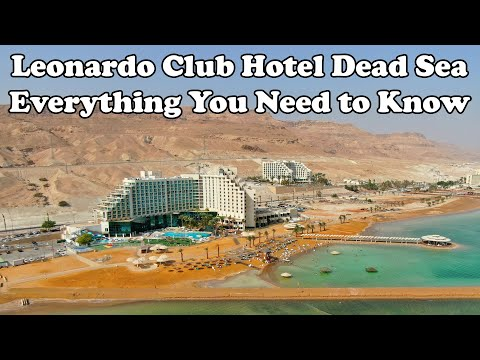Leonardo Club Hotel Dead Sea - All Inclusive - Everything Incl. Drone, Rooms, Beach, Dinner, ...