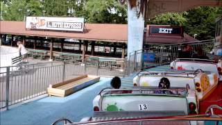 Waldameer: Music Express / On Ride POV / July 14, 2015