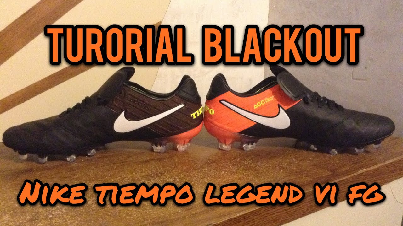 Tutorial Legend Nike Pintar Como Zapatos De Tus Vi Blackout Tiempo IYf7vyb6g